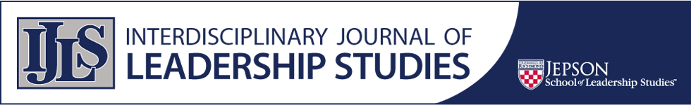 Interdisciplinary Journal of Leadership Studies