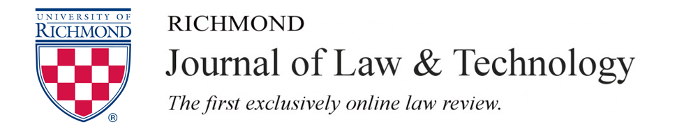Richmond Journal of Law & Technology