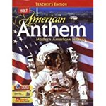 American Anthem: Modern American History by Edward L. Ayers, Robert D. Schulzinger, Jesús F. de la Teja, and Deborah Gray White