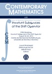 Invariant Subspaces of the Shift Operator by Javad Mashreghi, Emmanuel Fricain, and William T. Ross
