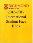 International Students 2016-2017 by University of Richmond