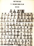 1972-1973 First Year Class