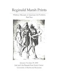 Reginald Marsh Prints: Whitney Museum of American Art Portfolio, Part Two