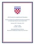 2020 Faculty Accomplishments Reception