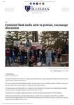 Feminist Flash Mob Intervention - UR Collegian article by Patricia Herrera and Mariela Méndez