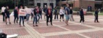 Feminist Flash Mob Intervention in English and Spanish by Patricia Herrera and Mariela Méndez