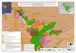 Mapa del Corredor Socioambiental de las Fronteras Amazónicas entre Ucayali, Madre de Dios (Perú), Acre (Brasil) y Pando (Bolivia)