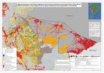 Mapa de Amenazas a Territorios Indígenas en las Fronteras Amazónicas entre Ucayali (Perú) y Acre (Brasil)