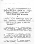 T. C. Williams School of Law, University of Richmond: Personal Property Exam, 25 May 1944