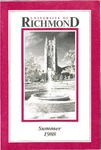 University of Richmond Bulletin: Catalog of the T.C. Williams School of Law for Summer 1988