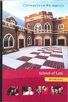 University of Richmond Bulletin: Catalog of the T.C. Williams School of Law for 2004-2006