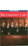 Richmond Law: Magazine of the University of Richmond School of Law