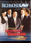 Richmond Law Magazine: Spring 2001