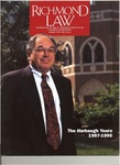 Richmond Law Magazine: Summer 1995