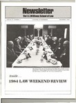 The T.C. Williams School of Law Newsletter: Winter 1984