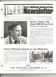 The T.C. Williams School of Law Newsletter: Winter 1981