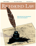 Richmond Law Magazine: Summer 2018