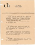 Law Library News Letter: March 1983