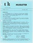 Museletter: September 1983