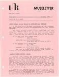 Museletter: October 1983
