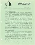 Museletter: November 1983