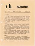 Museletter: January 1984