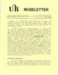 Museletter: May 1986