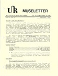 Museletter: September 1986