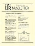Museletter: September 1989