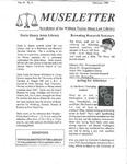 Museletter: February 1998