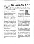 Museletter: March 1998