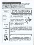 Museletter: April/May 2003
