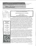 Museletter: April 2004