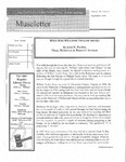 Museletter: September 2004