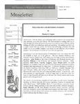 Museletter: August 2006